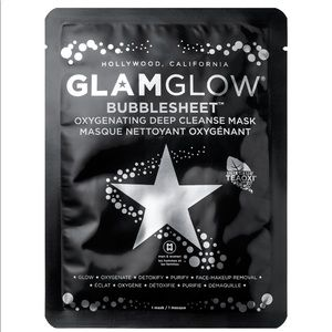 Set of 6 GLAM GLOW Bubble Sheet Deep Cleanse Masks